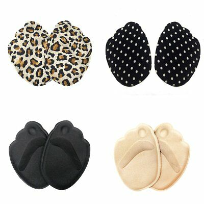 4D Thicker High Heel Sponge Cushion Insoles Front Pad Feet Shoe Foot Care MB
