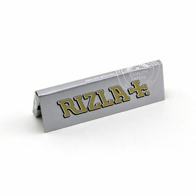 Rizla Standard Smoking Cigarette Rolling Papers Silver Super Thin 5,100 BOOKLETS
