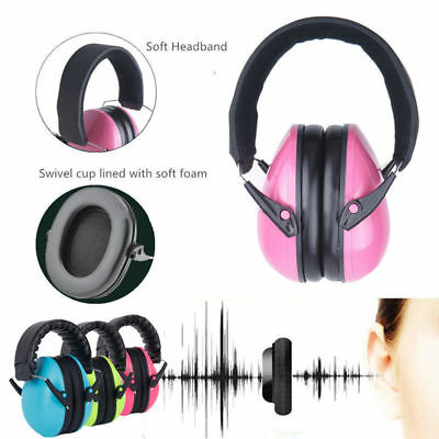 Kids Childs Baby Ear Muff Defenders Noise Reduction Comfort Protection UK