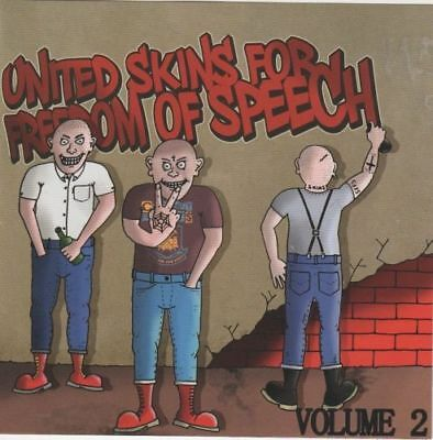 United Skins for freedom... CD Oi!Oi!Oi! Skin Way of Life Last Riot/The Firm/Etc