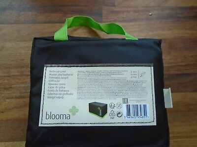 brand new Blooma black bbq cover in carry bag (110 cm 113 cm x 71 cm)