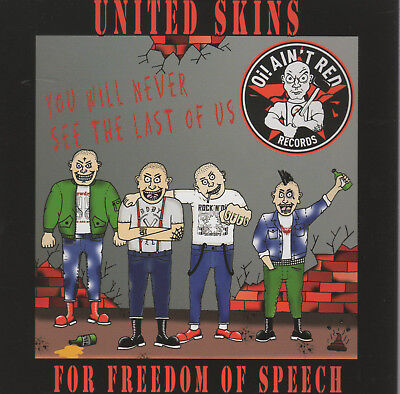 United Skins for freedom... Vol.1  DOCD Oi!Oi!Oi! Skin Way of Life