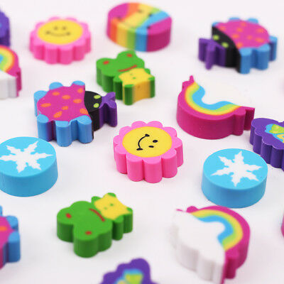 Rubber Eraser 20pcs/box For Kid Gift School Supplies Stationery Material Student