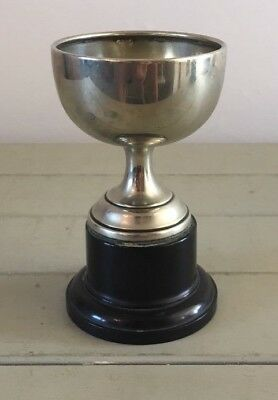 Vintage silver plate trophy, trophy, trophies, antique, NOT ENGRAVED