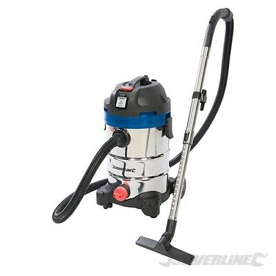 Ex-Demo 1250W Wet & Dry Vacuum Cleaner With Power Take Off For Power Tools