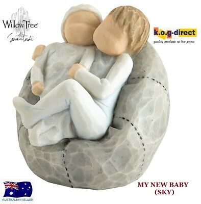 MY NEW BABY SKY Willow Tree Demdaco Figurine By Susan Lordi Brand New In Box