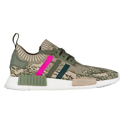 WOMENS ADIDAS NMD R1 W PK Green Trainers BY9864 - EUR 127 63401f6ec7