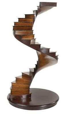 Handcrafted Spiral Stairs Model - Solid Timber