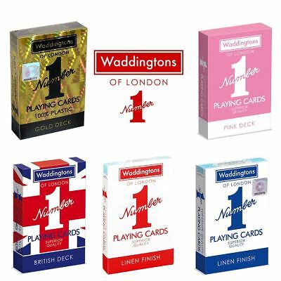Waddington's Number 1 – The Classic World Famous Playing Cards – Shop the Range!