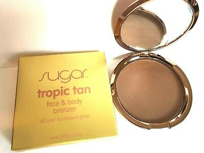 SUGAR TROPIC TAN Face & Body Bronzer Natural Sunkissed  NEW IN BOX