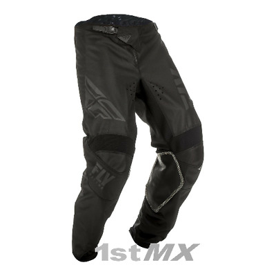 2019 Fly Racing Kinetic Shield Black MX Motocross Offroad Race Pants Adults