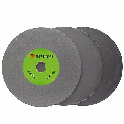 4 inch Diamond Grinding Disc 400 1200 3000 Grit for Angle Grinder Pack of 3Pcs