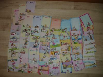 Lot DIDDL complet feuilles relief - toute la collection Diddl !!!