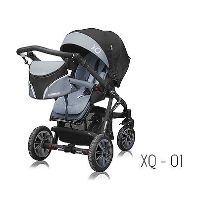 Baby Active Pushchair Buggy XQ All terain! 2in1 NEW 2018 model!!