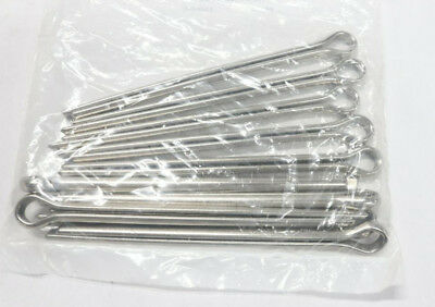 """Lot of 4 - Pack of 10 Stainless Steel Extended Prong Cotter Pin 5"""" 5/16"""" Dia."""