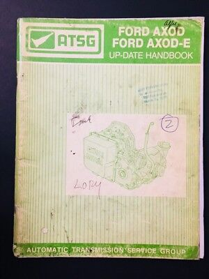 ford f4eat escort tracer techtran manual