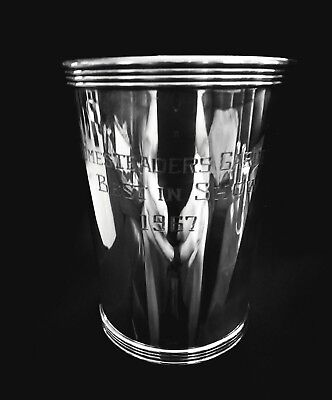 Boardman Sterling Silver Mint Julep Cup - SCRATCH AND DENT SALE!!