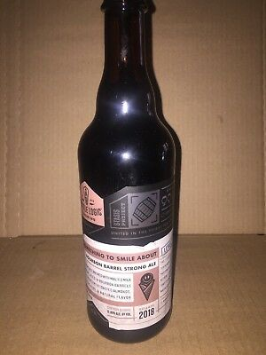 Bottle Logic - Something To Smile About - 500ml - BBA Strong Ale - Barrel Aged