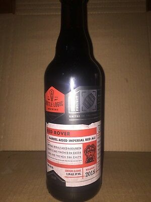 Bottle Logic - Red Rover - 500ml - BBA Red Ale - Barrel Aged