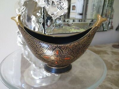 Vintage Antique Hand Painted Bowl,Numbered, Persian Byzantine Chinese or Russian