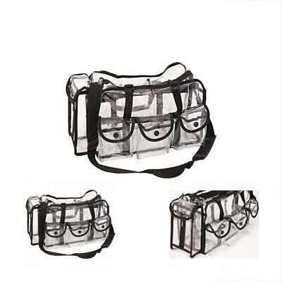 Casemetic Cosmetic Bags Large Carry Clear Set With 6 External Pockets
