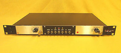 """Telefunken V675 Matched Pair moded to Micpre in 19"""" Rack with 48V PAD phase rev."""