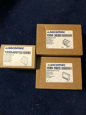 Socomec Bundle of 3 devices, all boxed and unused.