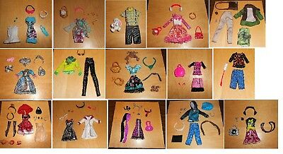 Ever After High And Monster High Dolls Clothes & Accessories Ooak