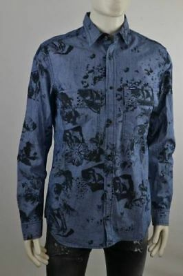 Diesel There Shirt Men's Long Sleeve Leisure Size Selectable