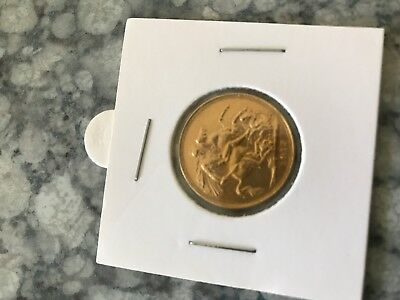 1917 London Mint Gold Sovereign in VF+ to EF condition- VERY RARE!!!