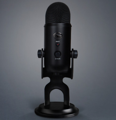 BRAND NEW Blue Yeti USB Microphone Blackout Edition