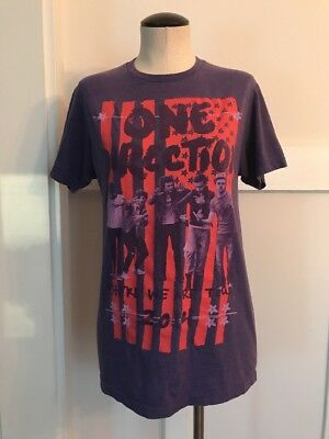 ONE DIRECTION WHERE We Are Tour 2014 Adult T Shirt Size
