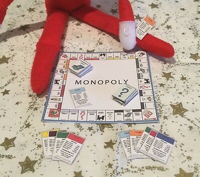 Handmade Accessories For Elf On The Shelf / Monopoly Board Game