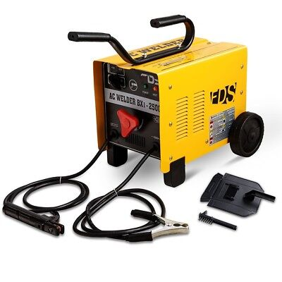 110V/220V ARC 250 AMP Welder Welding Machine Soldering Tools Portable w/2 wheels