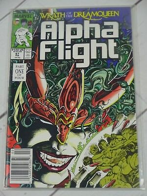 Alpha Flight #67 (Feb. 89') Wrath of the Dream Queen Part 1 Bagged - C2806
