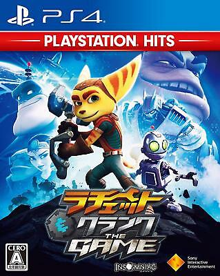 SONY PS4 Japan Ratchet & Clank THE GAME PlayStation Hits from Japan