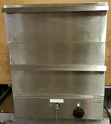 Nice Hot Dog Display Steamer NAPW Wyott DS-1A  Self Serve Stainless Steel Save!