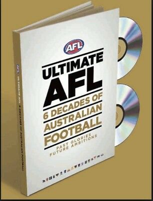 Ultimate AFL 6 Decades of Australian Football 1960's - 2010's 12 dvd's + folder