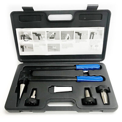 "Efield PEX A Expansion Tool Kit with 1/2"" 3/4"" 1"" Expander Heads"