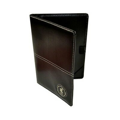 Liverpool FC Official Faux Leather Football Crest Golf Scorecard Holder (SG585)