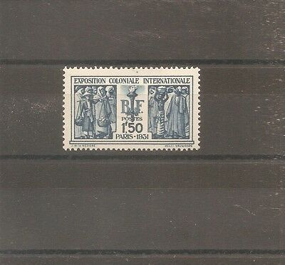 Timbre France Frankreich 1930 N°274 Neuf* Mh