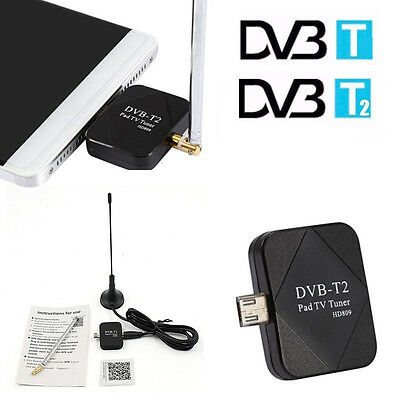 USB DVB-T Smartphone HD TV Tuner Receiver for Android Tablet Stick Dongle J4V7