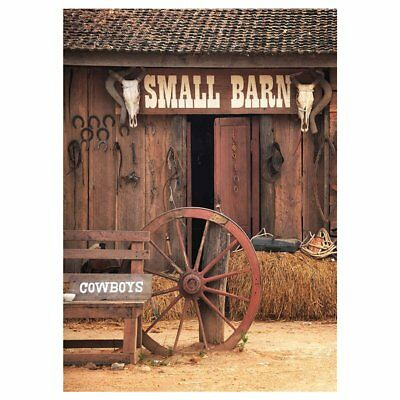 SMALL BARN Background For Baby Photo Studio Props Photography Backdrops Vin M3W9