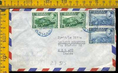 Africa Etiopia Ethiopie air cover to Italy li 315