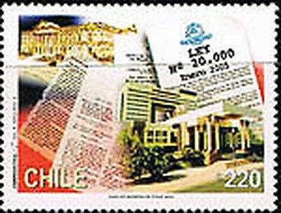Chile 1680 Fight against the drugs MNH