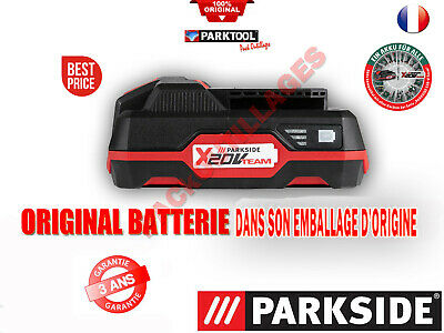 PARKSIDE® Batterie 20 V série X 20V TEAM ORIGINAL BATTERIE SOUS BLISTER !!