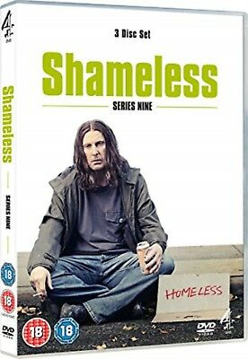 Shameless - Series 9 Complete 9th Ninth Season -David Threlfall, Nicky Evans DVD
