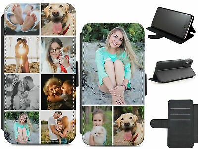 Personalised Custom Photo Leather Flip Phone Case Cover For Samsung A3/A310/A320