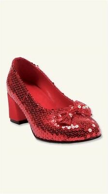 Victorian Trading Co Wizard of Oz Dorothy's Ruby Red Slippers Pumps Sz 10