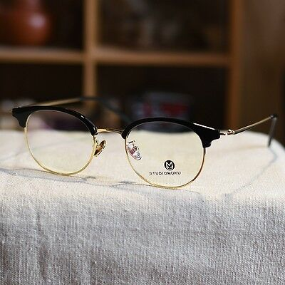 cce56030d8 Retro vintage mens Eyeglasses Frame women fashion Spectacles RX optical  eyewear